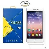 [2 Pack] Protector Cristal Vidrio Templado Huawei Ascend P7 ( L10 / L00 / L05 / Sophia ) - Pantalla...