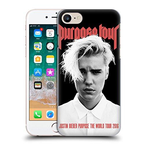 Head Case Designs Offizielle Justin Bieber Purpose Poster Tour Merchandise Ruckseite Hülle für iPhone 7 / iPhone 8