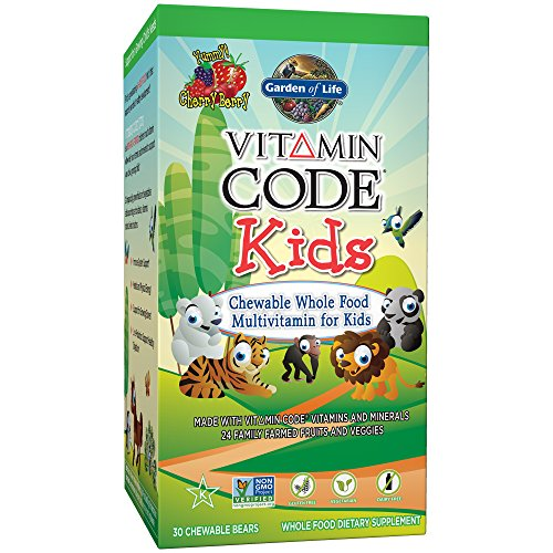 Garden of Life Vitamin Code Kids - 30 Kautabletten