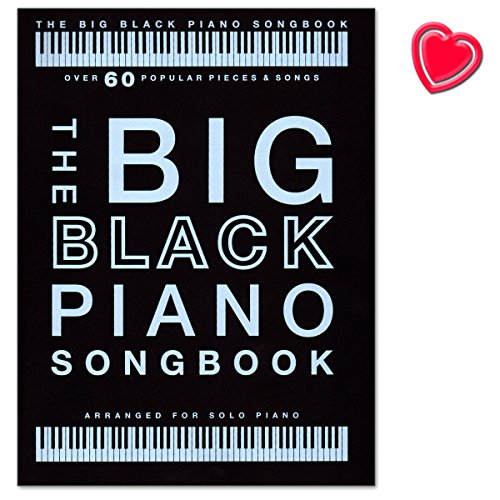 The Big Black Piano Songbook60morceaux bekannte cr pour Piano SoloMozart, Mariah Carey, Einaudi, Elton John, John Williams, Justin Bieber...SONGBOOK avec cur Note Pince