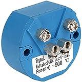 cnbtr plástico DC 24VK tipo termopar sensor de temperatura transmisor 0–500C