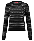 BOSS Hugo Damen Pullover Salkina schwarz (15) M