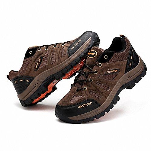 Ben Sports Randonnée pour hommes Chaussures d'escalade Taille Plus Marron