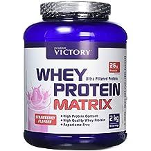 Weider Whey Protein Matrix, Complejo de Proteína, Sabor Fresa - 2000 gr