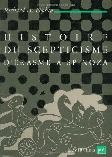 Histoire du scepticisme d'Érasme à Spinoza