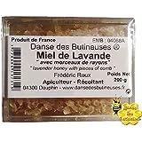 Miel de Lavandes dans ses alvéoles de cire naturelle 200g / Produit de France