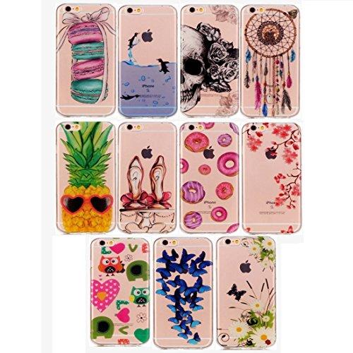 Phone case & Hülle Für iPhone 6 Plus / 6s Plus, Macarons Pattern IMD Workmanship Soft TPU Schutzhülle ( SKU : IP6P0887B ) IP6P0887H