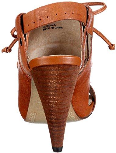 Bronx Sandaletten Coral braun Leder juma saddle
