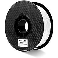 Filamento PLA 3d, Meterk Material de impresión 3D ABS PLA 1kg/2.2LBS 1.75 mm 1kg