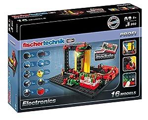 Fischertechnik Electronics - Aprende Electrónica con este Divertido Juego de Construcción con 16 Modelos.