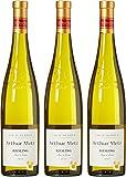 Arthur Metz France Alsace Vin Riesling AOP 2015 75 cl - Lot de 3
