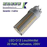 KRENN LED G12-20, 20 Watt, G12 Sockel, 2100 Lumen, Kaltweiss