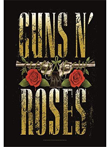 Heart Rock Licensed Flagge Guns N 'Roses–Big Guns, Stoff, mehrfarbig, 110x 75x 0,1cm