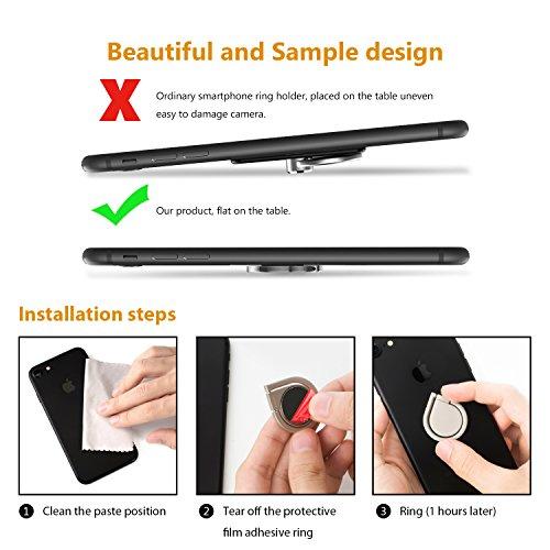 Icheckey Handy Ring Halter Finger 360 Freidrehbar Magnet