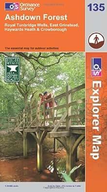 Ashdown Forest (Explorer Maps) (OS Explorer Map)
