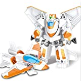 Heroes Rescue Bots , Einstufiges Verformungsspielzeug , Robotermodell - 2-7 Jahre altes Kinderspielzeug (Color : White)
