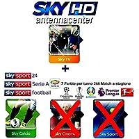 Sky Prepagato Tessera Abbonamento Sky HD Sky TV + Calcio + Mediaset Scade Settembre.2019