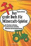 Das große Buch für Minecraft-Spieler: Der Einstieg in Bergbau, Landwirtschaft und Zucht, Häuserbau und Energiegewinnu