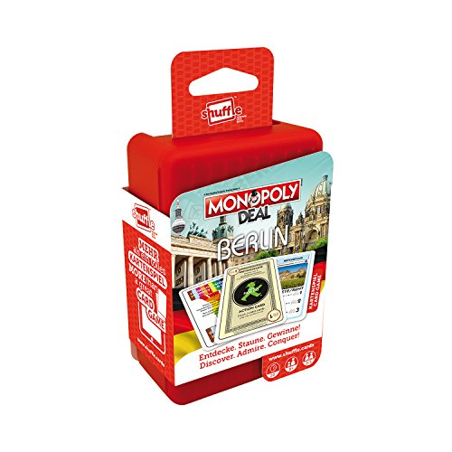 ASS Altenburger 22503321 - Shuffle Monopoly Deal City Trip - Berlin (City Spiel Monopoly)