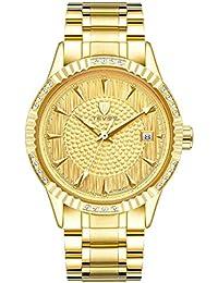 Hermosos Relojes de Diamantes incrustados tevise / t629a Reloj Reloj de los Hombres Reloj mecanico automatico