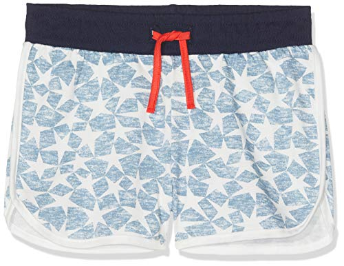 Sanetta Mädchen Schlafanzughose Shorts Allover Blau (Coronet Blue 50301) 164
