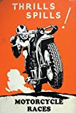 #6: [MY HOME]vintageocd motorcycle Poster ( BEST QUALITY POSTER SIZE : 30 CM X 45 CM )