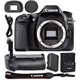 Canon EOS 80D 24.2MP CMOS Full HD Wi-Fi Enabled Digital SLR Camera(Body Only) + Pro Series Multi-Power Battery Grip For Canon DSLR Cameras - International Version
