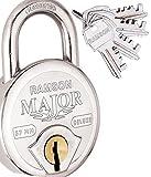 #7: RAMSON Major Deluxe Steel Double Locking 8 Lever Lock With 4 Keys (57 MM_145)