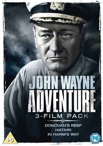 John Wayne: Adventure Triple (Donovan's Reef, Hatari, In Harm's Way) [DVD]