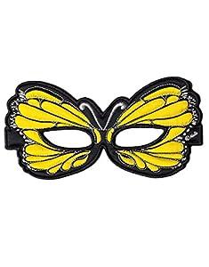DREAMY DRESS-UPS 50764Amarillo Máscara de mariposa (Talla única)
