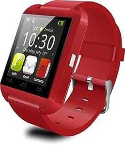 U8 Bluetooth Notifier Smart Watch (Red)