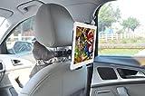 HCcolo iPad Tablet Kopfstützen-Halterung, Universal KFZ Kopfstützen-Halterung für tragbare DVD-Player, Kindle, Samsung Tablet, iPad Air / Mini und alle 7 bis 10 Zoll-Geräte