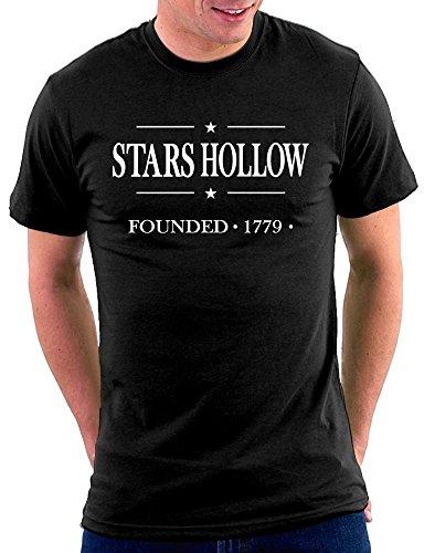 Gilmore Girls Stars Hollow T-shirt Schwarz