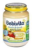 Bebivita Apfel-Banane / Quark, 6er Pack (6 x 190 g)