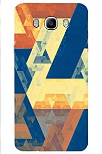 SRS Graffiti Design With Triangle 3D Back Cover for Samsung Galaxy J7 2016