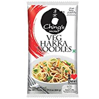 Ching's Secret Veg Hakka Noodles, 600 gm