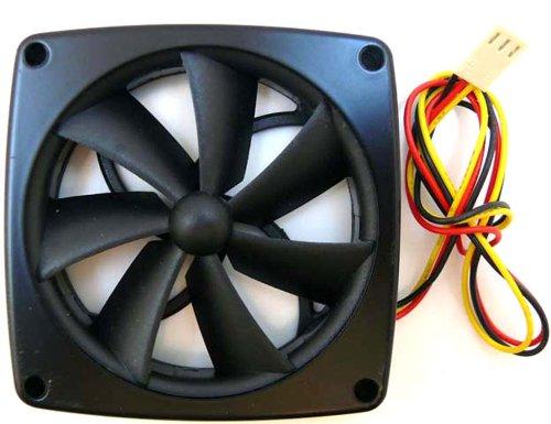 1 Lüfter Ventilator - Y.S.TECH PD127012B-2F - 12 Volt DC/1,2 Watt - 76x76