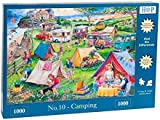"1000 Piece Jigsaw Puzzle - Find the Differences No.10 - 'Camping' ""NEW February 2016"""