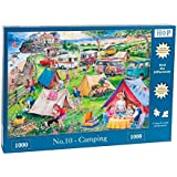 """1000 Piece Jigsaw Puzzle - Find the Differences No.10 - 'Camping' """"NEW February 2016"""""""