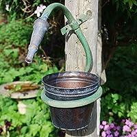 Generic NV _ 1001003845_ yc-uk2Older pi da parete GN wa in metallo, piccola unted Vaso da Giardino en PL TUBO Design Piano Portavaso Small