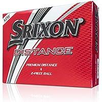 Srixon Distance Golf Balls, Soft White, One Dozen (2017/18 Version)