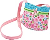 HABA 3999 - Tasche Elfe Elfine, hübsche Kinder-Tasche für Mädchen ab 2 Jahren, kleine Umhängetasche aus Polyester mit bezauberndem Blumenmuster, mit Magnet-Verschluss, schönes Geschenk zum Geburtstag