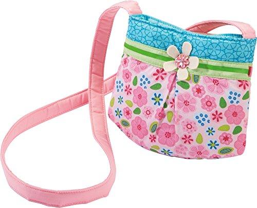 HABA 3999 - Tasche Elfe Elfine, hübsche Kinder-Tasche für Mädchen ab 2 Jahren, kleine Umhängetasche aus Polyester mit bezauberndem Blumenmuster, mit Magnet-Verschluss, schönes Geschenk zum Geburtstag (Kleine Geschenk Tasche)