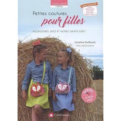Petites coutures pour filles : accessoires, sacs et autres objets girly