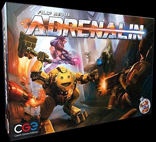 Czech Games Edition CGED0028 Adrenalin Brettspiel -