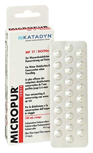 Katadyn Micropur Forte MF 1T - 100 (4x25) Tabletten