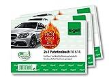 Sigel T1159 Fahrtenbücher für PKW, 3 Stück