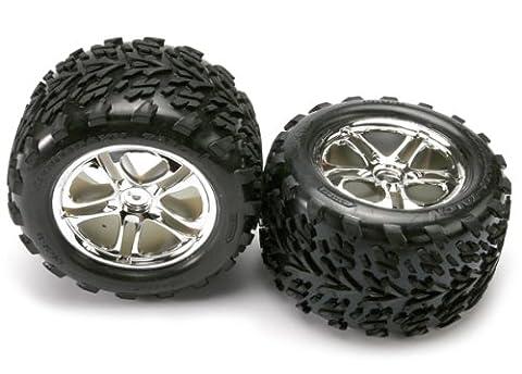 Reifen+Felgen verklebt für E-Revo, E-Maxx, T-Maxx