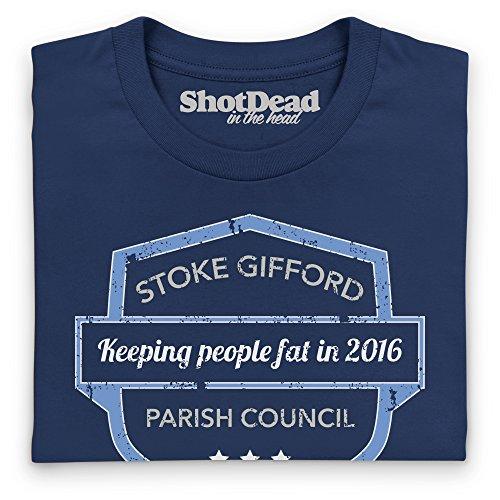 Stoke Gifford Parish Council T-Shirt, Damen Dunkelblau