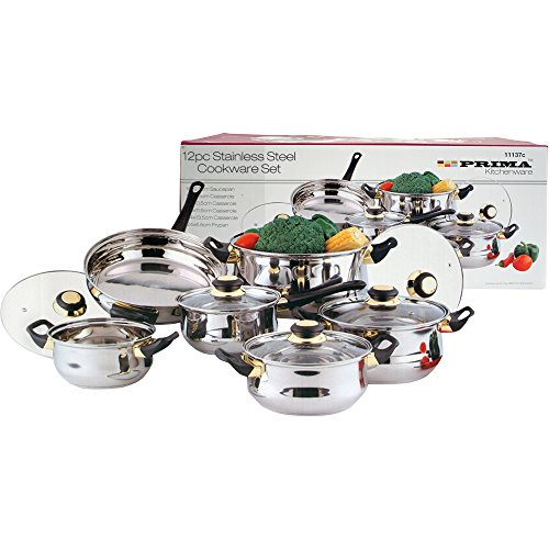 Prima Cookware Set, Set of 12